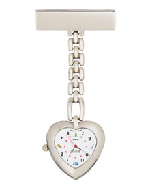 Heart Chain Lapel Watch