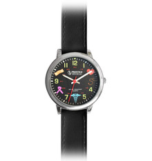 Medical Symbols Watch - Black