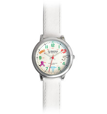 Medical Symbols Watch - White