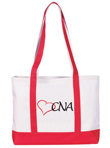 Tote Bag - CNA on Red