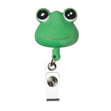 Retracteze™ ID Holder - Green Frog