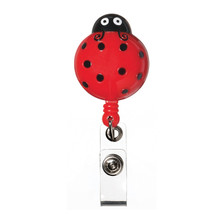 Retracteze™ ID Holder - Lady Bug