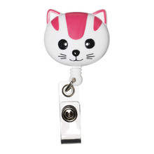 Retracteze™ ID Holder - Pink Cat