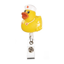 Retracteze™ ID Holder - Yellow Duck
