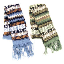 Alpaca Blend Geometric pattern Scarf Buy More and Save!