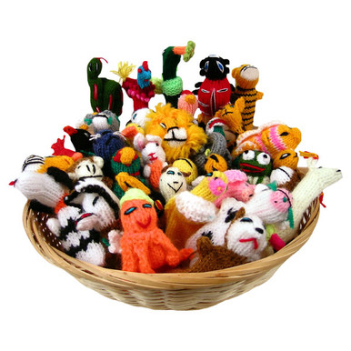 Finger Puppets Assortment Bag
