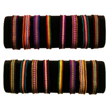 Friendship Bracelets - Cotton 10 Ten Pack Assortment Hand Woven