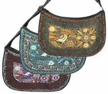 "Assortment Designs and Colors Colca Purse 12"" x 8"""