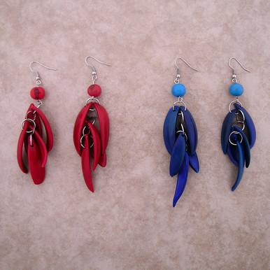 Amazon Tagua Blossom Earrings