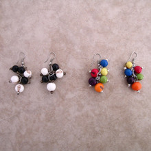 Amazon Acai Seed Cluster Earrings