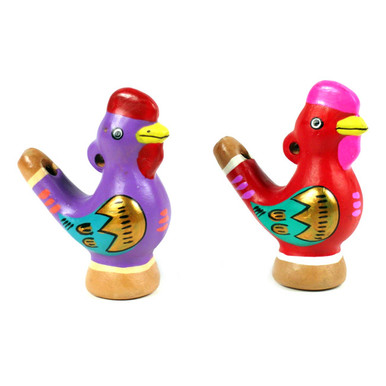 Bird Chirp Water Whistle - Rooster