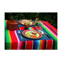 "Woven Sarape Throw 58""x82"" Assorted Colors"