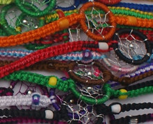 Dream Catcher Bracelets Pack of Ten Assortment