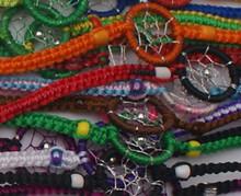Dream Catcher Bracelets Pack of Ten Assortment