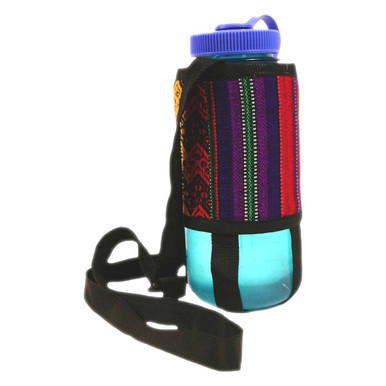 Water Bottle Holder Manta Hand Woven .5 Liter Small