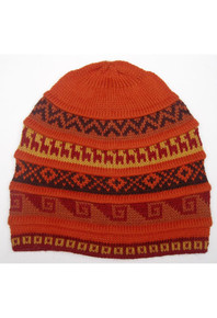 Five Bands Geometric Patterns Beanie Assorted Colors Adult One Size Super Soft and Light