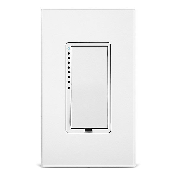 Insteon 2474DWH SwitchLinc 600W 2-Wire (no neutral) Dimmer Switch, White