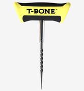 "BLACKJACK T-Bone Plugging Tool W/ Spiral Probe & 4"" Open Eye Needle"