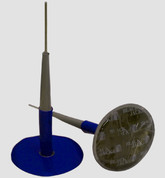 "BLACKJACK Patch Plug Combo ¼"" (6mm) Stem (Wrapped Style)"