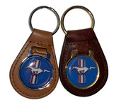PAIR OF RUNNING PONY KEY CHAINS