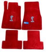 FLOOR MATS AS PICTURED IN A TORCH RED
