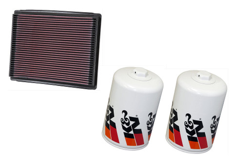 AIR FILTER W/2-OIL FILTERS