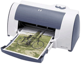 Hewlett Packard DeskJet 656c InkJet Printer