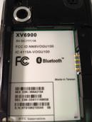 HTC Touch XV6900 Verizon Smartphone - White
