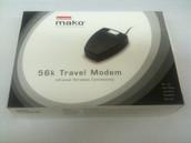 DIAMOND MAKO PSION 56K v.90 Infrared Travel Modem 5DTGTB-27848-DT-T
