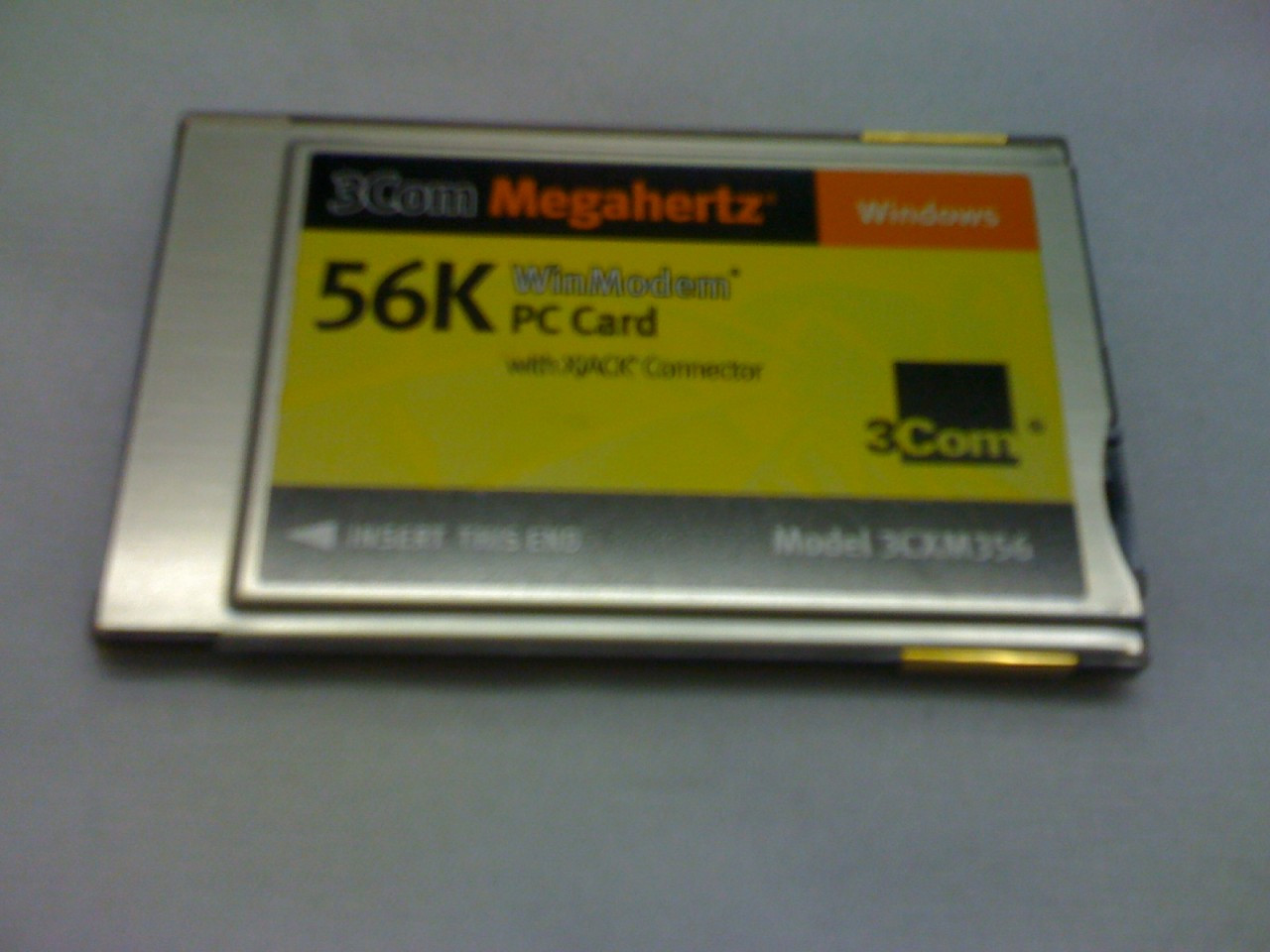 3Com Megahertz LAN+56K PC Card Drivers (2019)