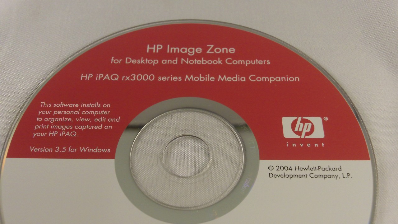 Hp Image Zone For Desktop And Notebook Computers Hp Ipaq Rx3000 Series Mobile Media Companion Usedhandhelds Com Inc