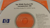 HP iPAQ Pocket PC Companion CD for HP iPAQ h2200 Series