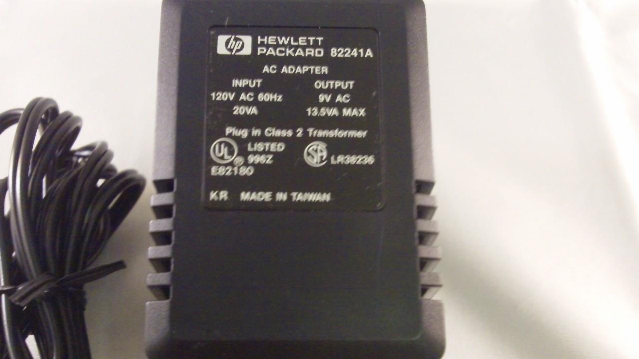 Hewlett Packard 82241A AC Adapter For HP 95LX Palmtops
