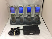Lot of 4 Dolpin 9500L0P-432C50E Handheld Barcode Scanners