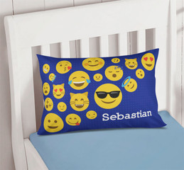 Boy Emojis Pillowcase Cover