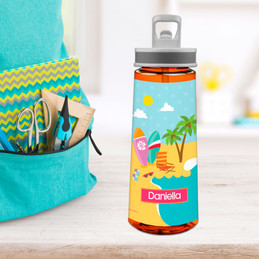 Fun At The Beach Sports Water Bottle