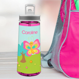 Cute And Sweet Butterfly Sports Water Bottle