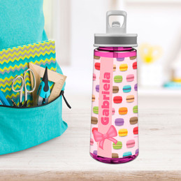 Yummy Macaroons Sports Water Bottle