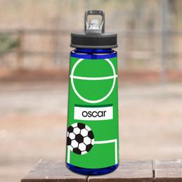 Boy Soccer Fan Sports Water Bottle