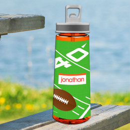 Football Fan Sports Water Bottle