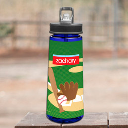 Baseball Fan Sports Water Bottle