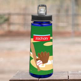 Baseball Fan Sports Water Bottle