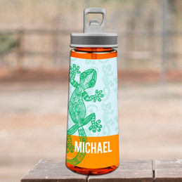 Climbing Gecko Sports Water Bottle