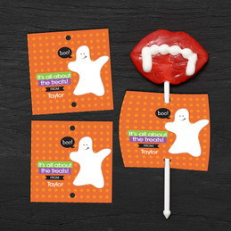 Boo Boo Ghost Lollipop Cards