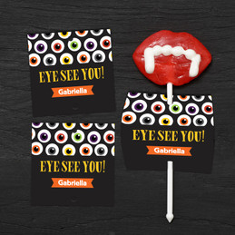 Eye See You Lollipop Cards