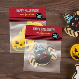 Halloween Skull Treat Bags