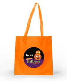 Spooky Pumpkins Halloween Bag