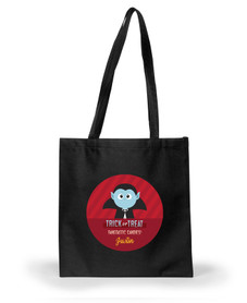 Blue Dracula Halloween Bag