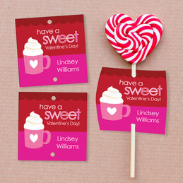 A Cup Of Sweetness Lollipop Cards Set