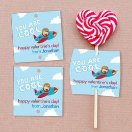 You Are Cool Lollipop Cards Set
